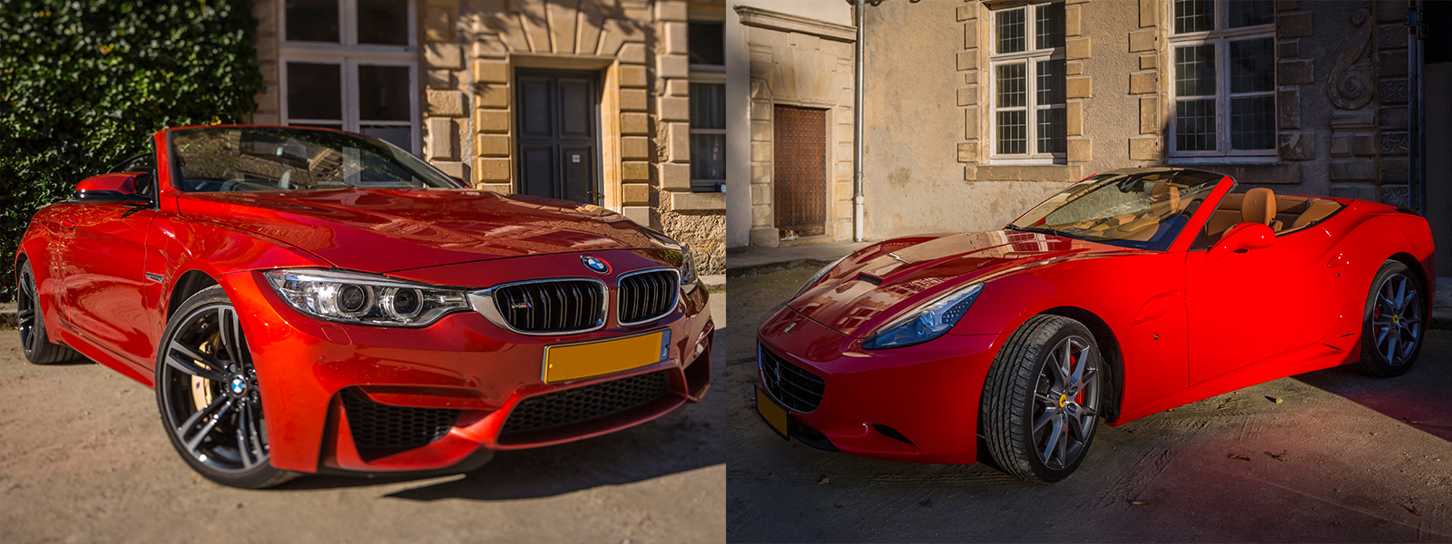 Stage pilotage Ferrari California + BMW M4