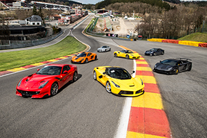 Supercars stage de pilotage spa francorchamps