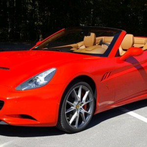 Ferrari California rouge Location ferrari Luxembourg